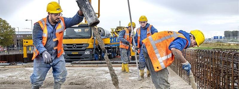 betonbedrijf beton storten