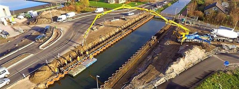 verpompen van beton
